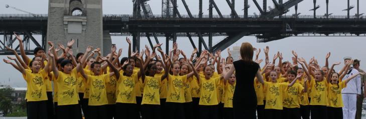 NSW Public Schools Junior Singers Australia Day 2015